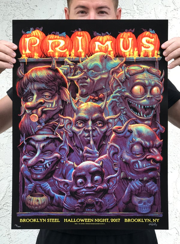 Image of PRIMUS Halloween Brooklyn Steel