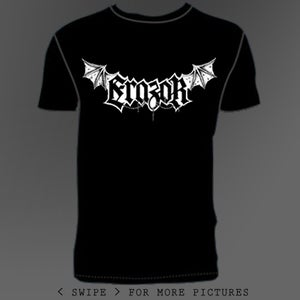 Image of Logo-Shirt White On Black
