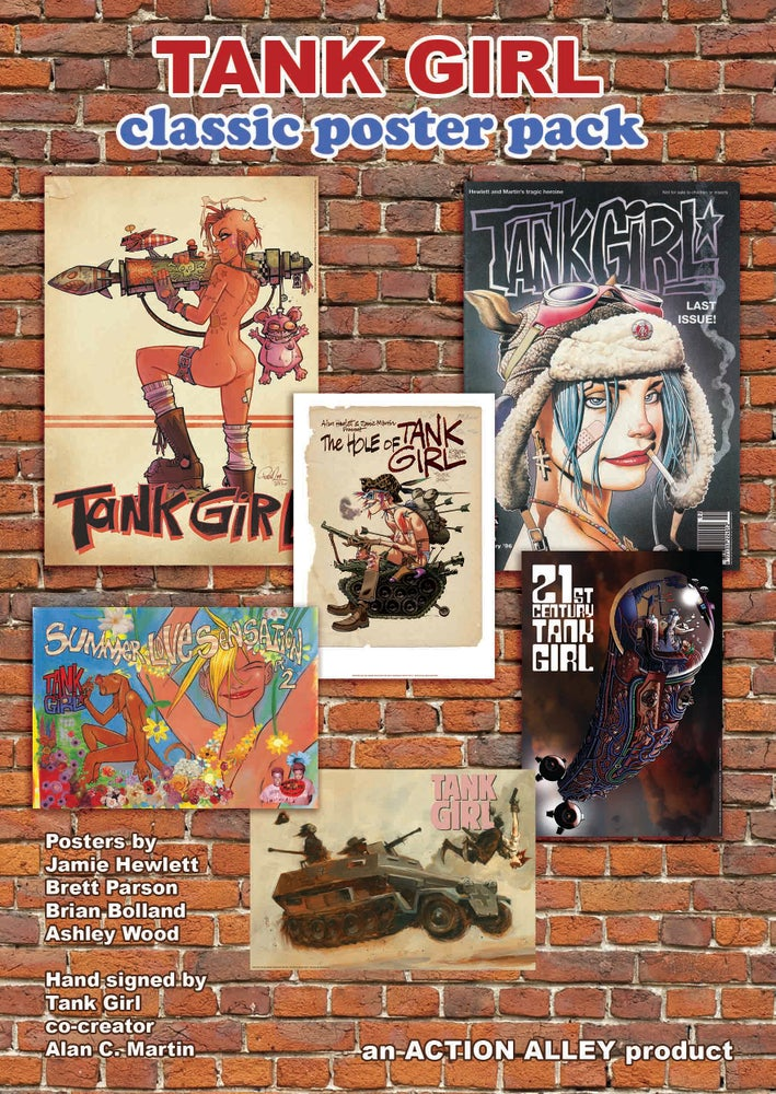 Image of TANK GIRL CLASSIC POSTER PACK