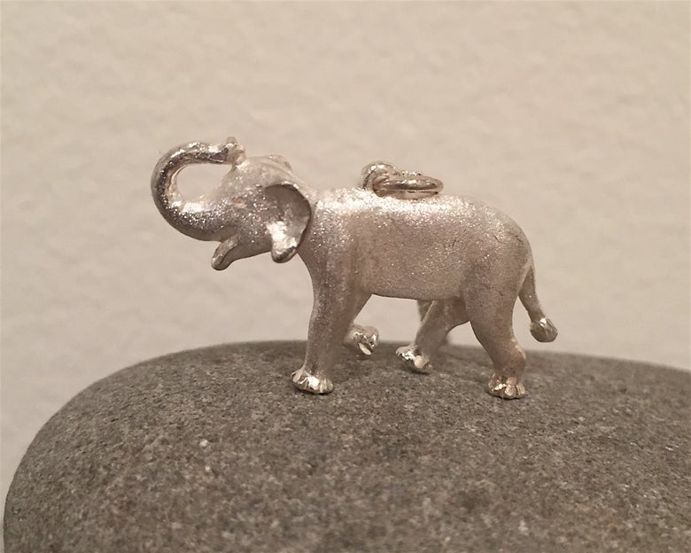 Image of Elephant Pendant (Asian)