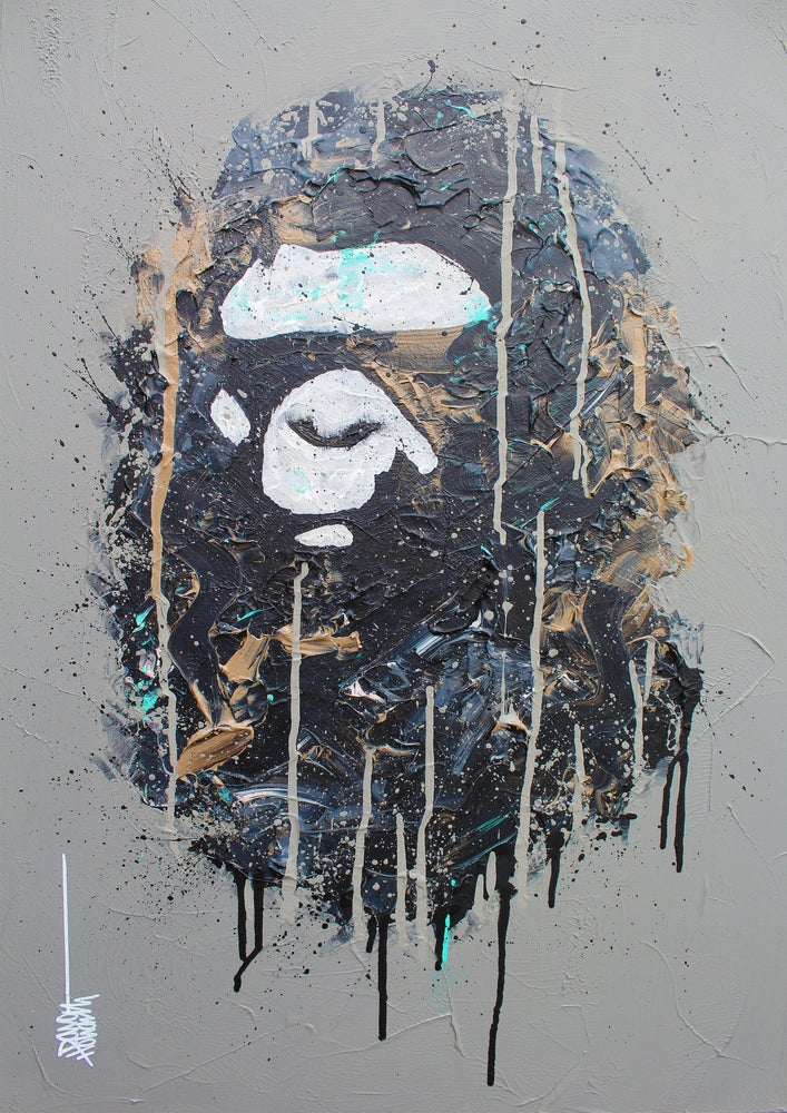 Image of Abstract Ape II (Limited Edition Print)