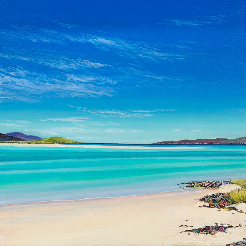 Image of Luskentyre beach ALL SIZES giclée print