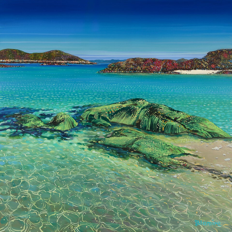 Image of North shore, Coll small giclée print