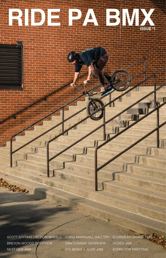Image of RIDE PA BMX - ISSUE ONE