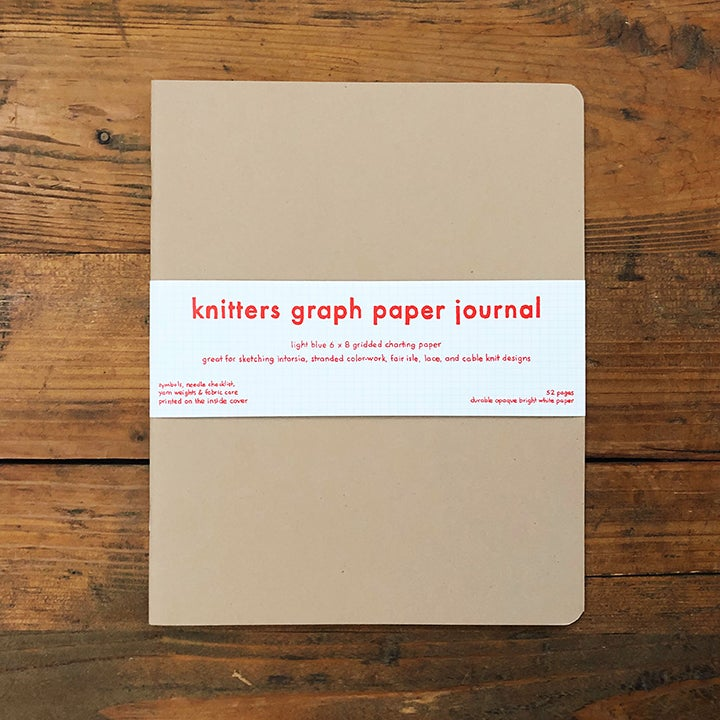 knitters graph paper journal fringe supply co