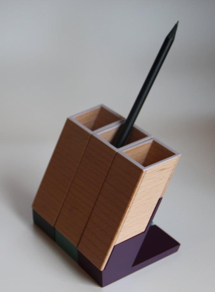 Image of PLUM - Pot à crayon / Pen Pot - Taille 1 / Size 1 - vendu à l'unité