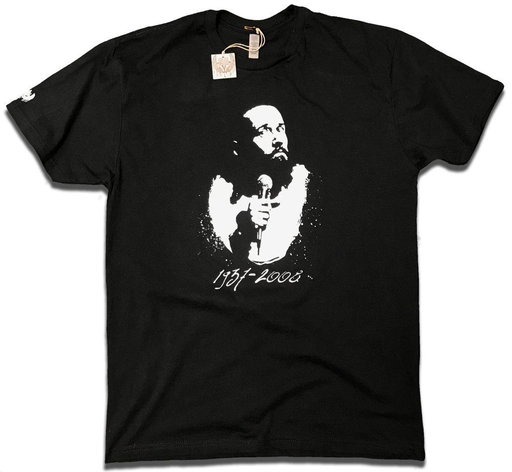 Image of George Carlin redesigned tribute tee