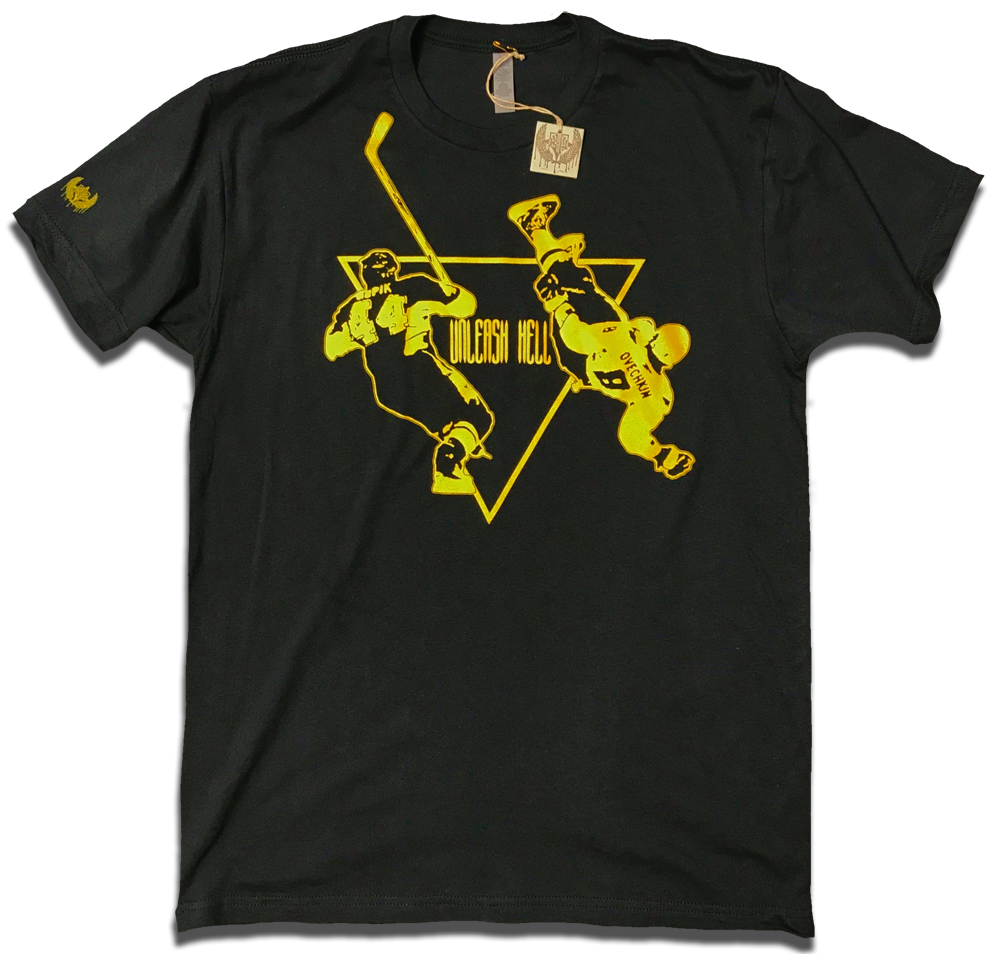 "Image of Brooks Orpik / Ovechkin ""Unleash Hell"" revamped tee"