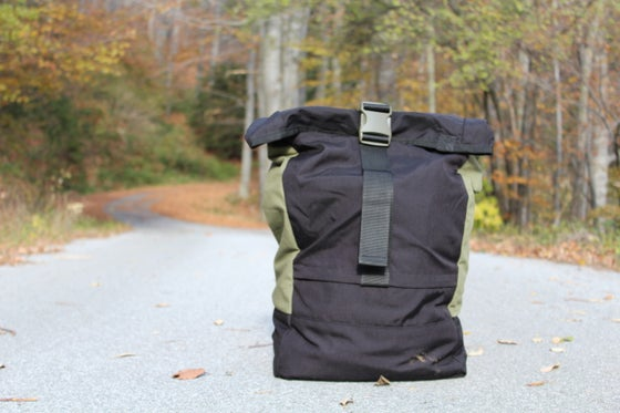 Image of WOW MAX Rolltop Cordura Canvas Backpack