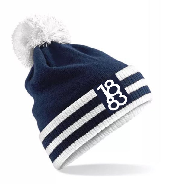 Image of 1883 Navy Bobble Hat (500 sold)