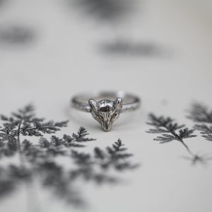 Image of *NEW* fox ring