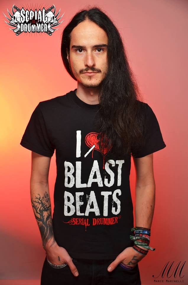 Image of Tee-Shirt I LOVE BLAST BEATS