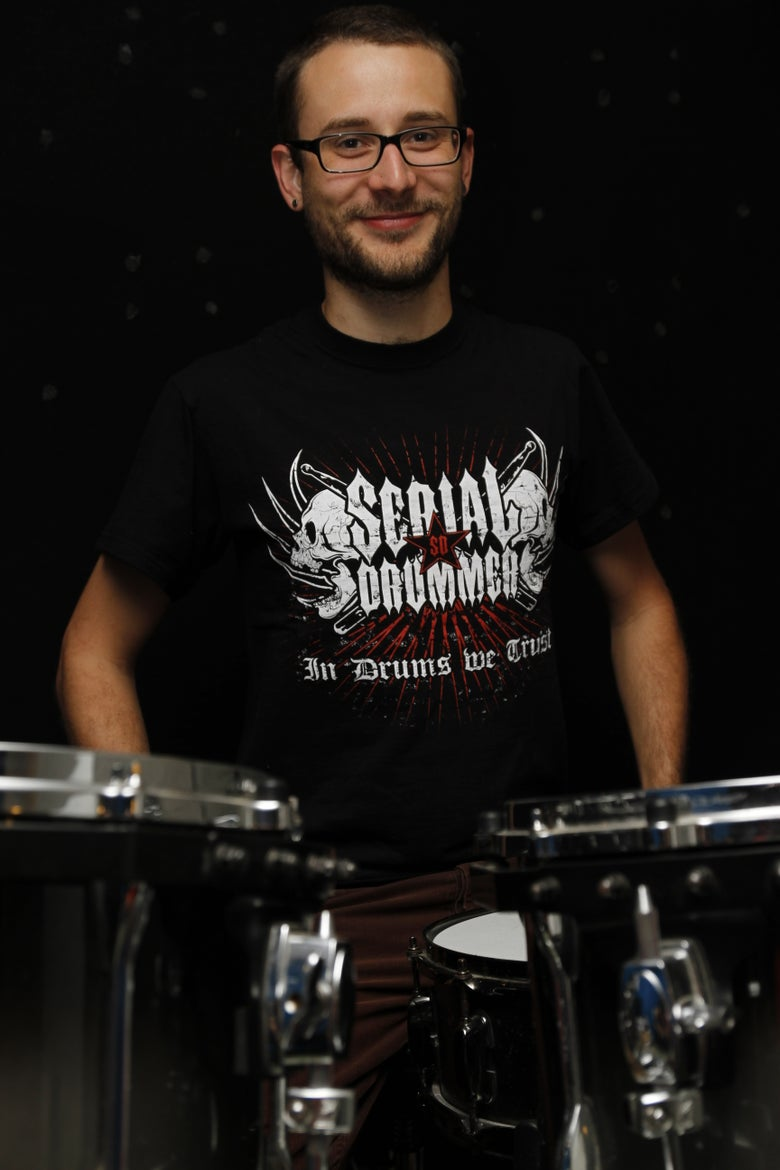 Image of Tee-Shirt IN DRUMS WE TRUST