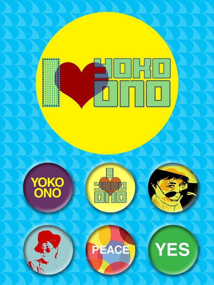 Image of I <3 Yoko Ono
