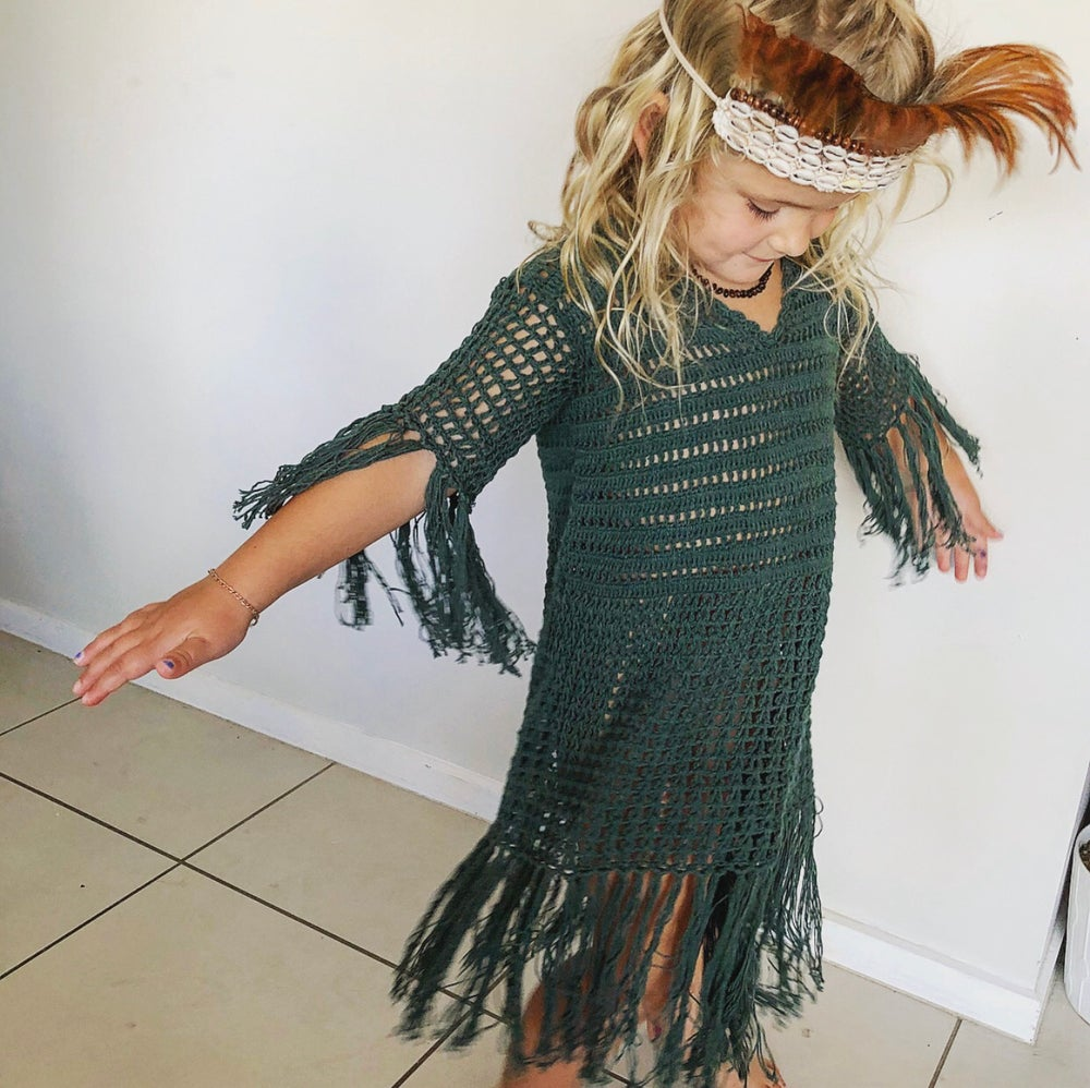 Image of Wild Child Tassel Dress