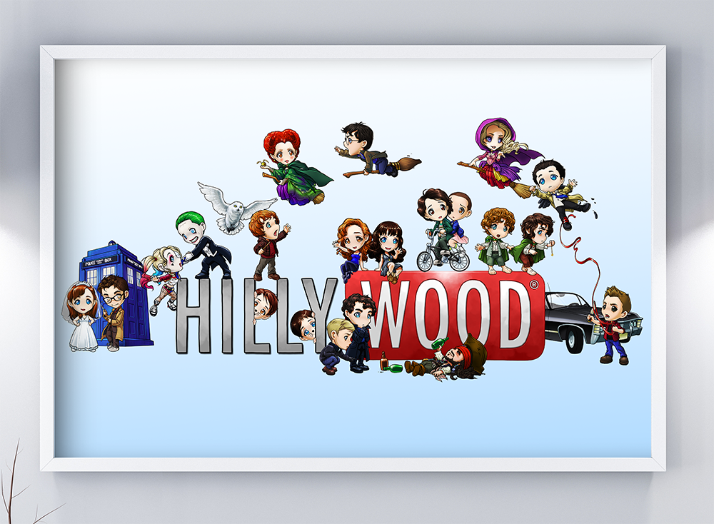 Image of HILLYWOOD POSTER