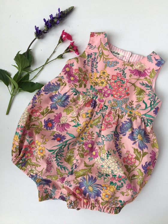 Image of Springtime Romper in Pink