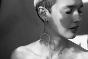 Image of Om earrings