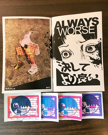Image of ALWAYS WORSE/NEVER BETTER zine