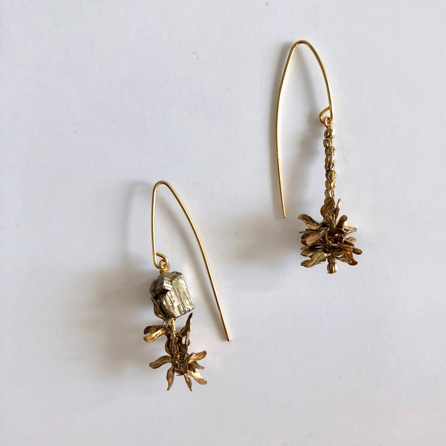 Image of Poppy Seed head earrings