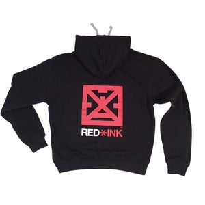 Image of SUDADERA UNISEX NEGRA. RED*INK CONCEPT