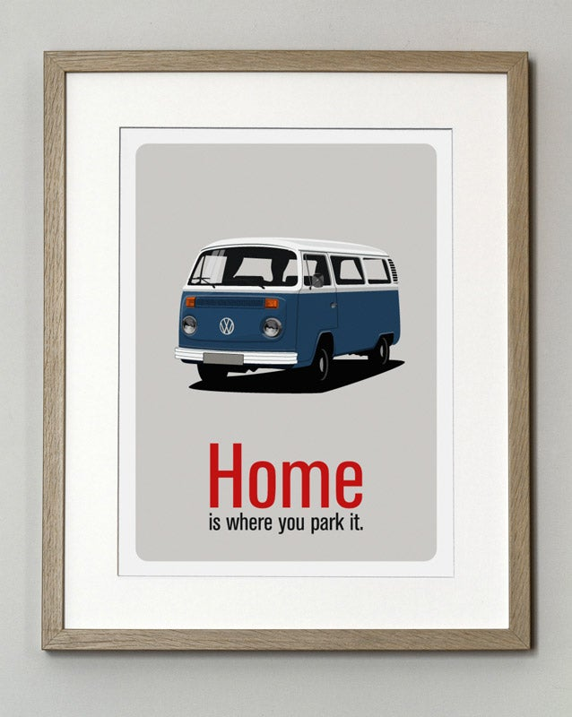 Image of Affiche Combi VW T2