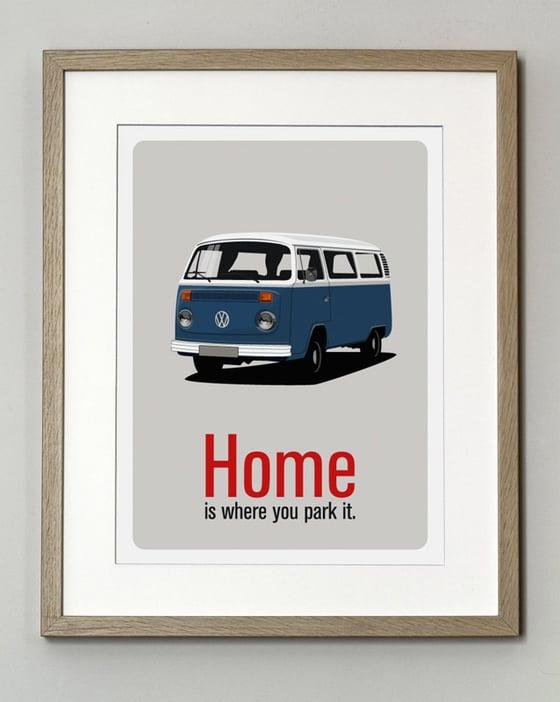 Image of Affiche Combi VW T2