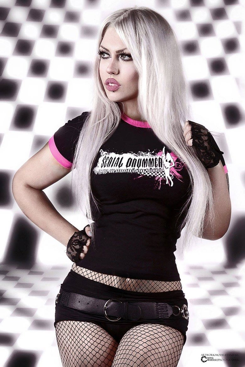 Image of GUNNER GIRLY Black & PINK