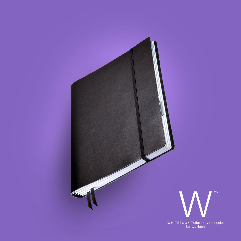 Image of WHITEBOOK STANDARD S001, cut boxcalf, black