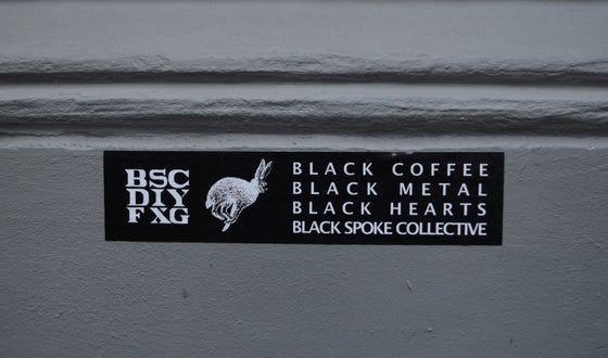 Image of Black Coffee XL Sticker
