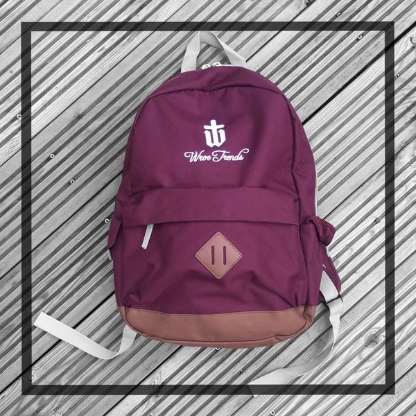 Image of BACKPACK • BURGUNDY