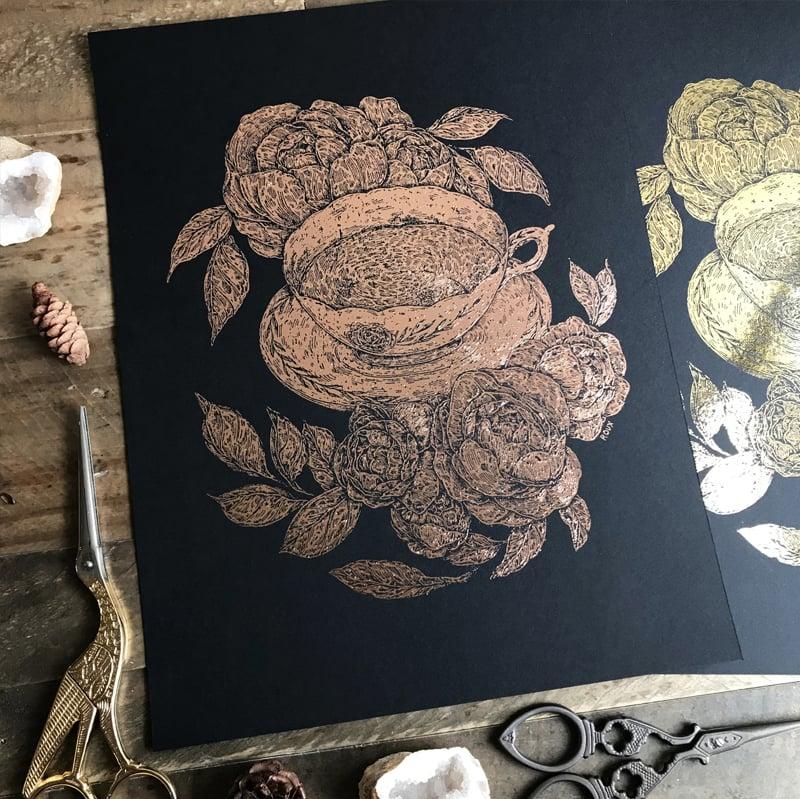 Image of Gold Foil Prints
