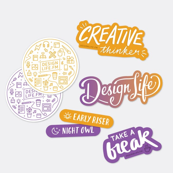 Image of Motivated Creators sticker pack