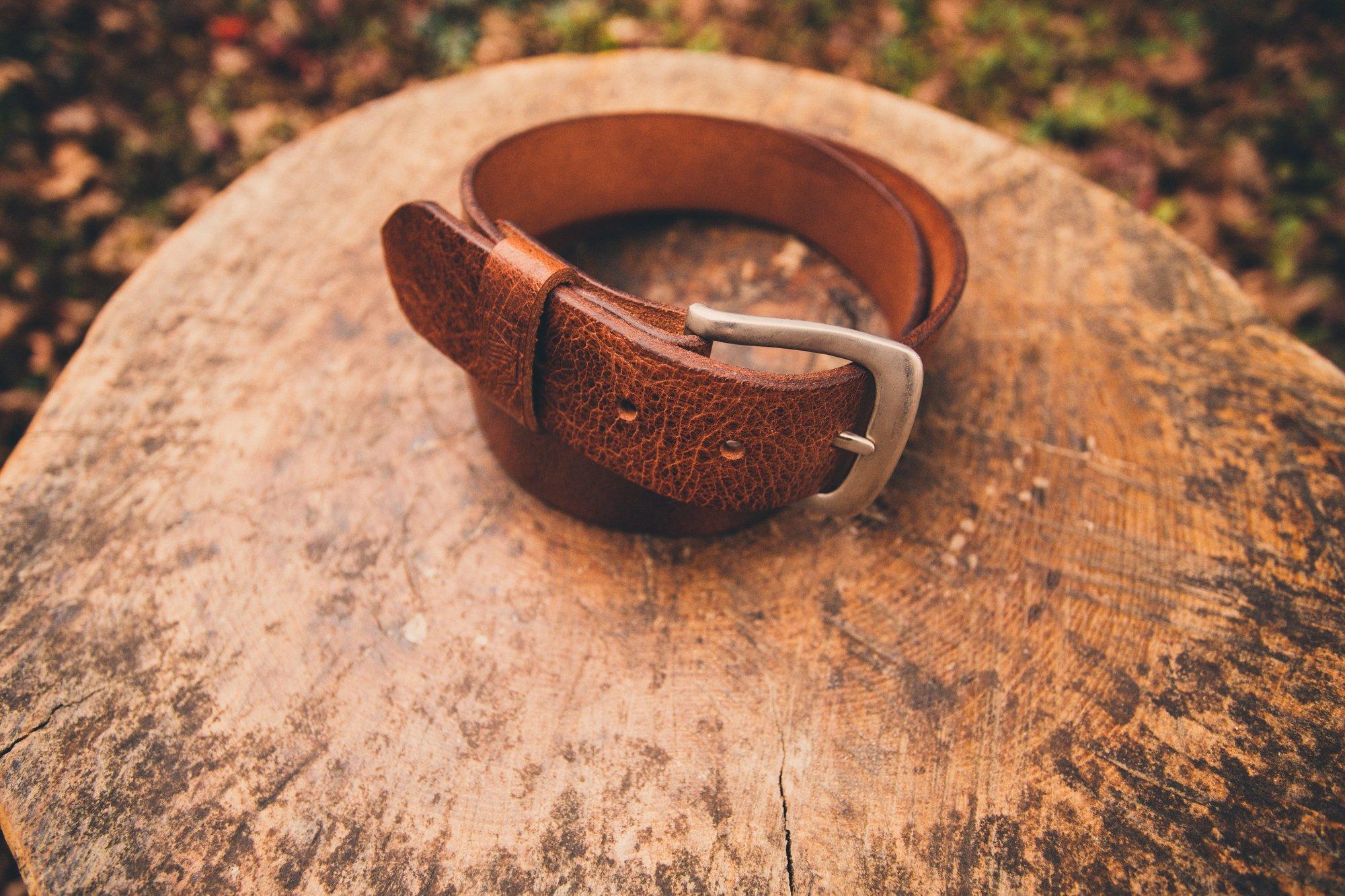 Image of Limited Edition Trailblazer Belt - Buffalo Hide