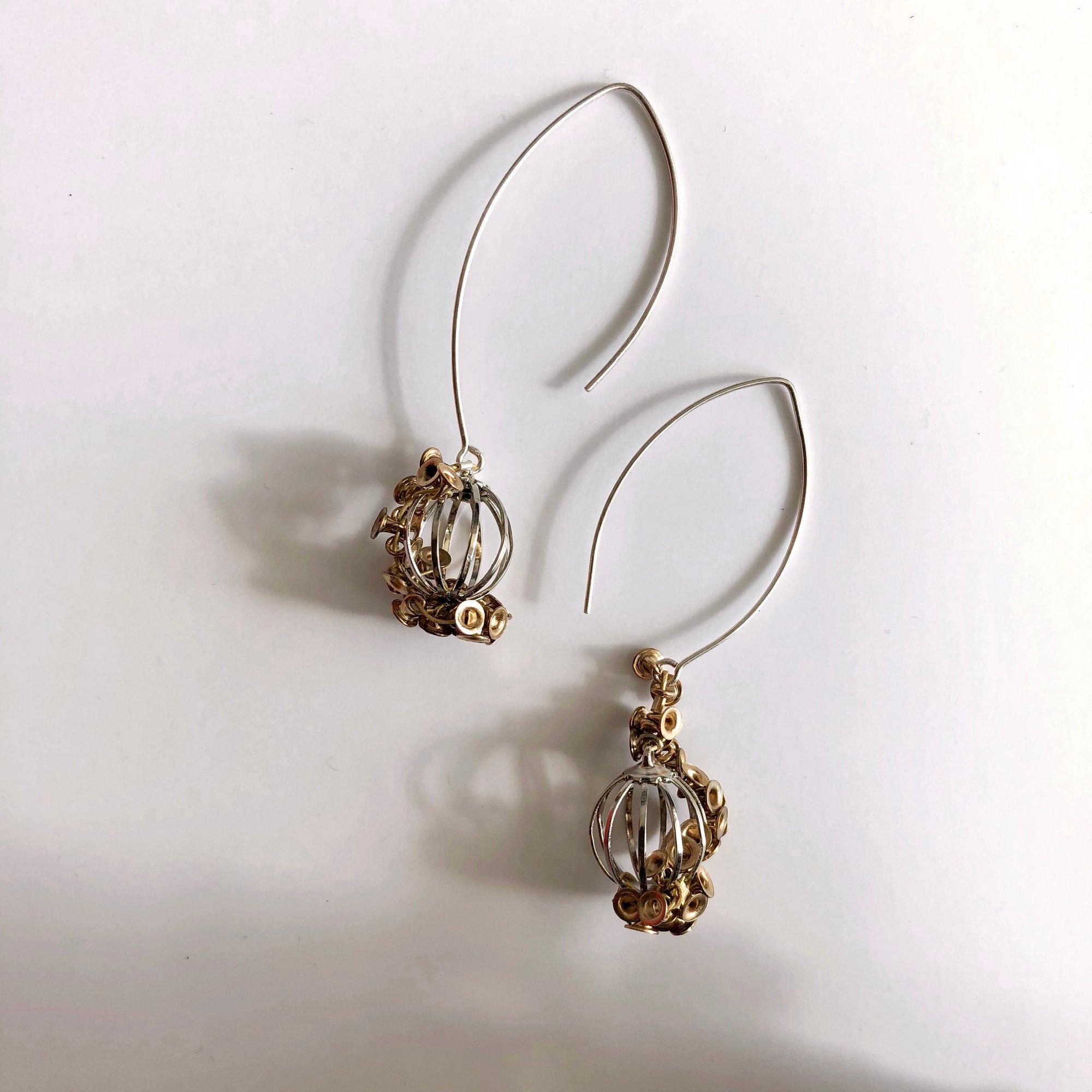 Image of Hide & Seed earrings