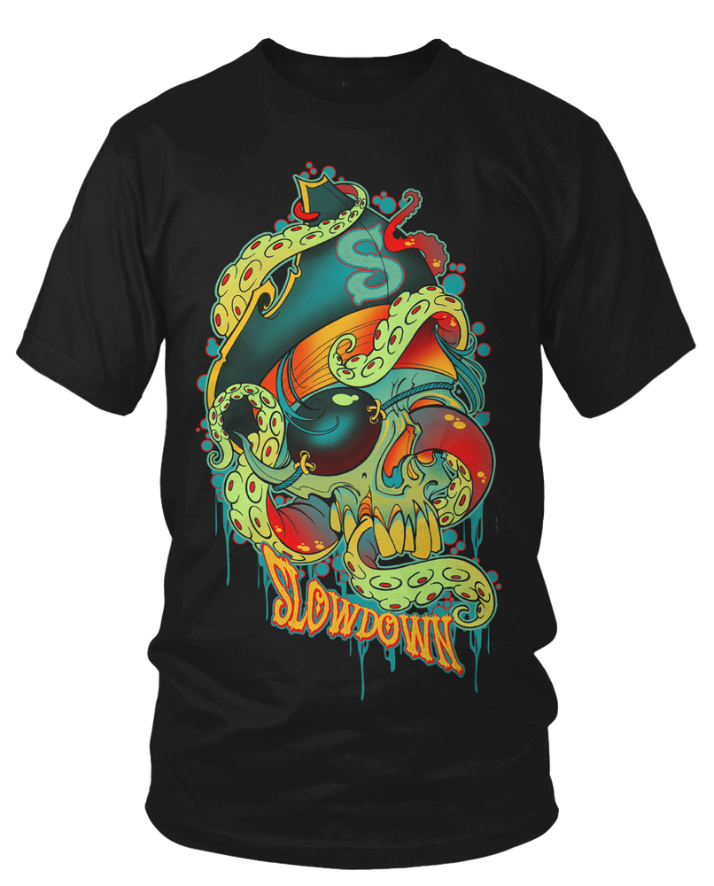 Image of Pirate Octopus Skull 2017