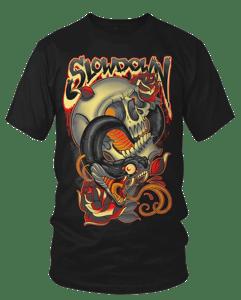 Image of Snake Skull Roses 2017