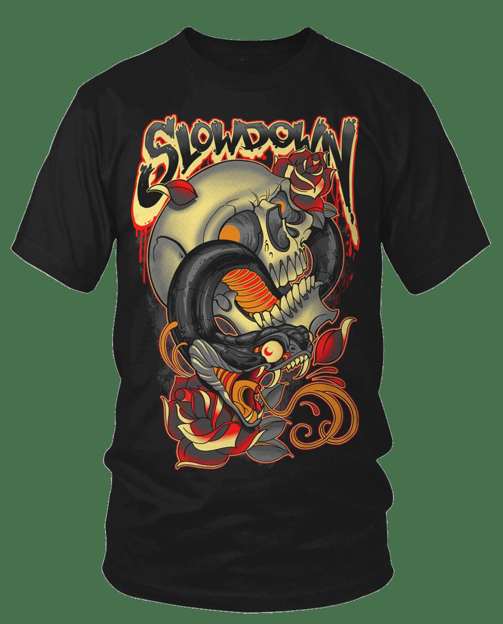 Snake Skull Roses 2017