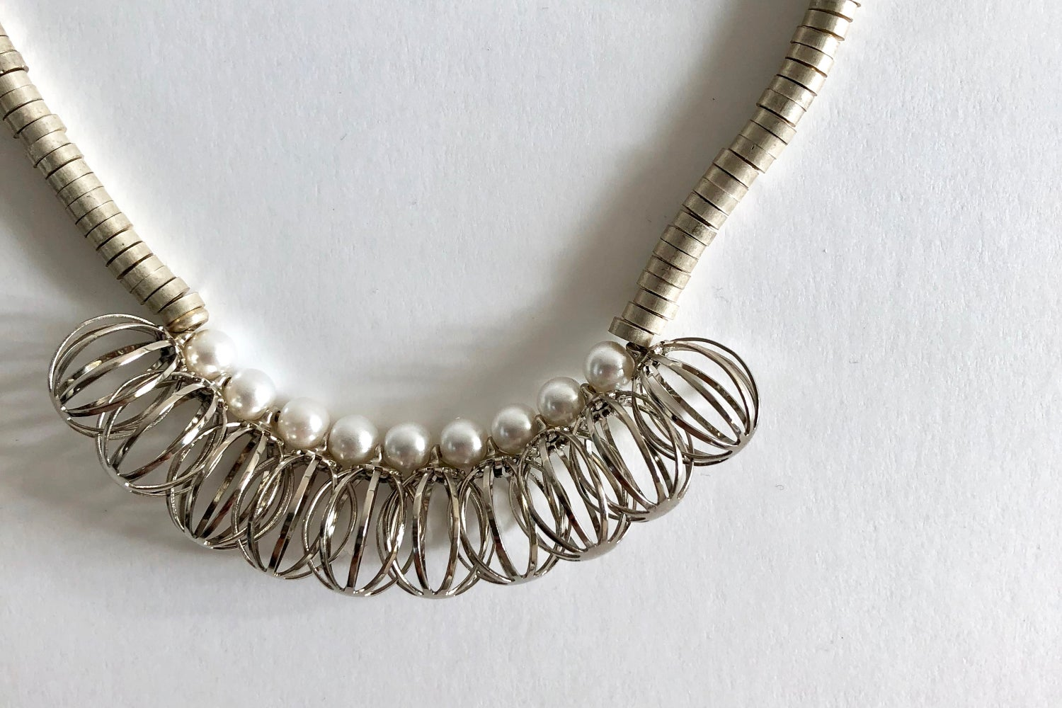 Image of Dried pod necklace