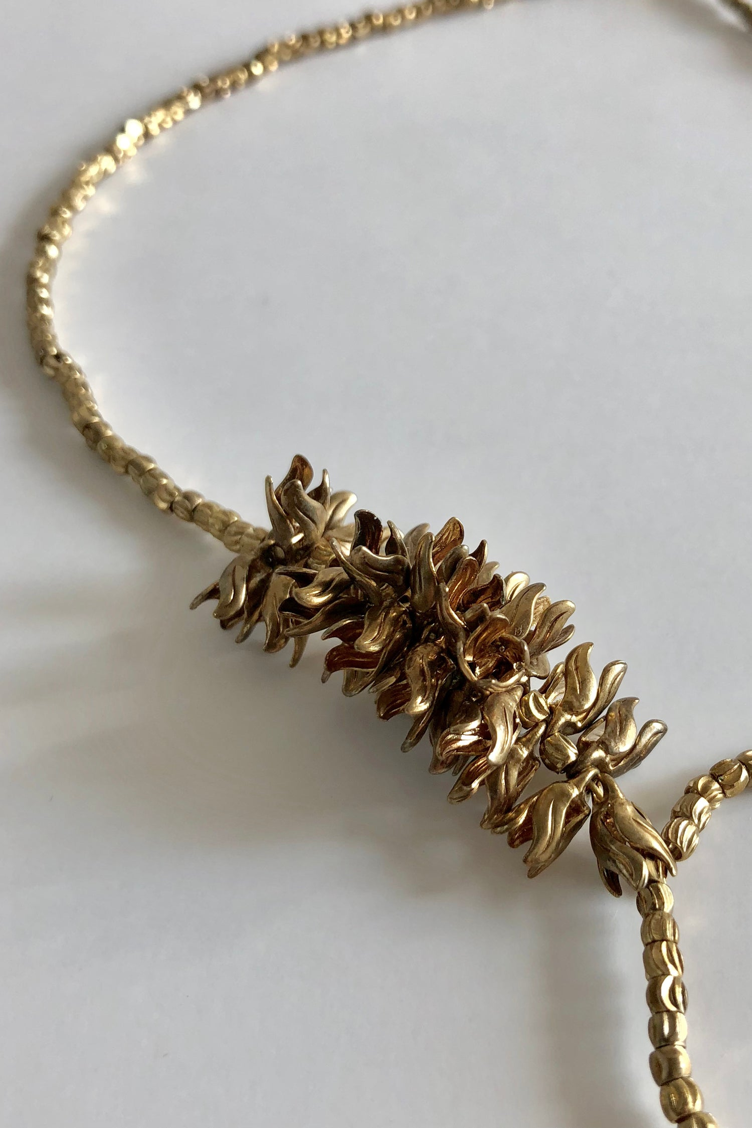 Image of Golden doug fir necklace
