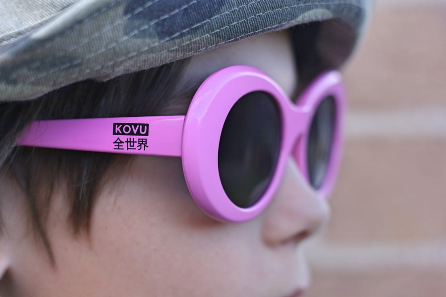 "Image of ""KOVU CLOUT GOGGLES"" ""Pink"""