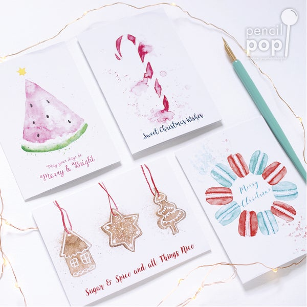 Image of Christmas Card Pack of 12