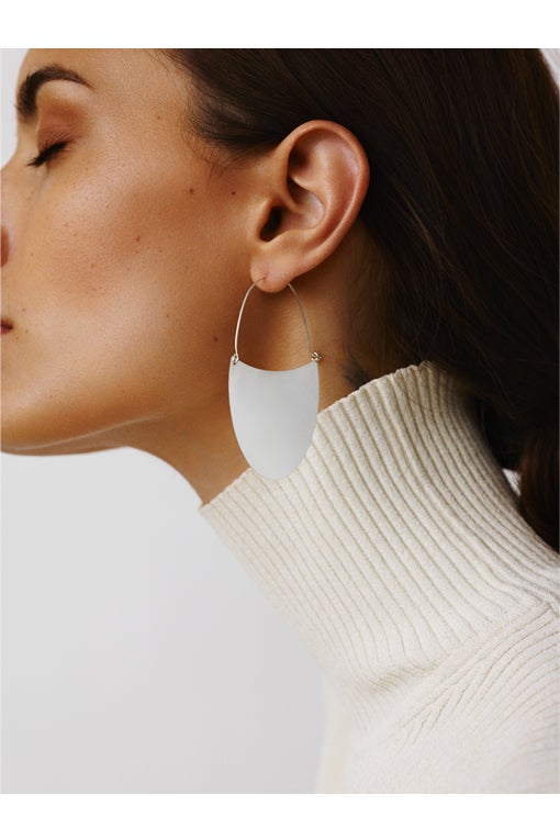 Image of TONGUE Earring Silver