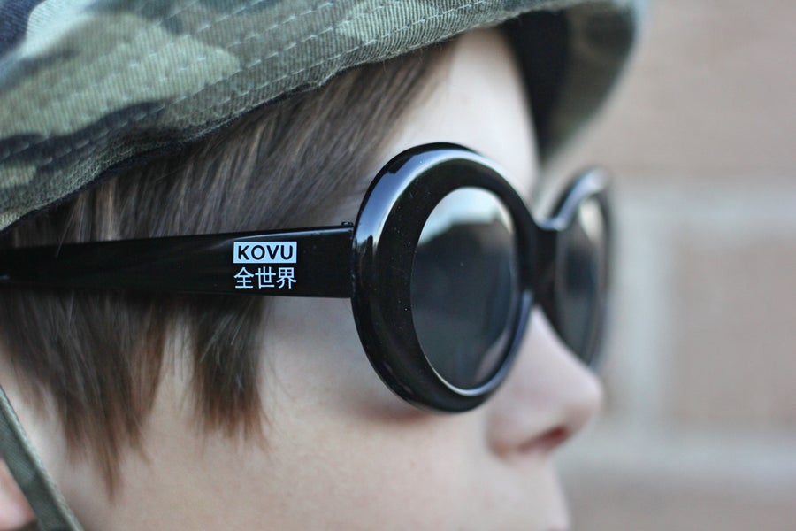 "Image of ""KOVU CLOUT GOGGLES"" ""Black"""