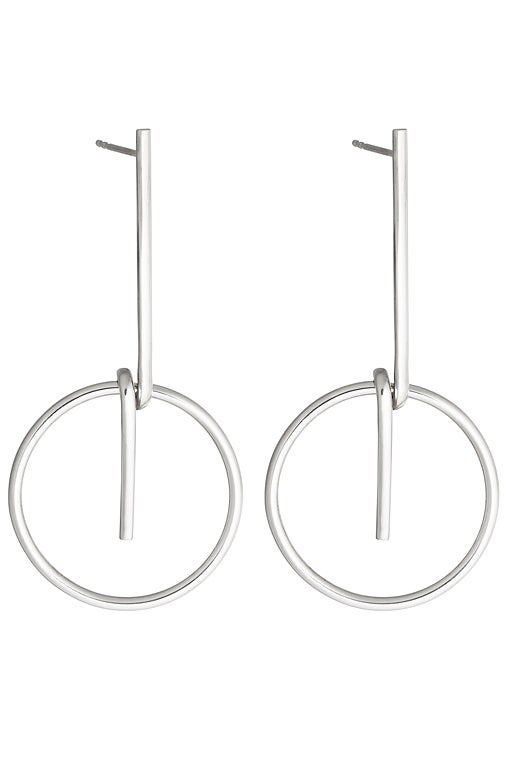 Image of LOOP Earring Silver