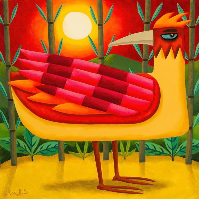 Image of RED BIRD