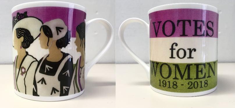 Image of Votes For Women Centenary Mug