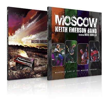 Image of KEITH EMERSON - Keith Emerson Band & Moscow - Édition 2CD digipack