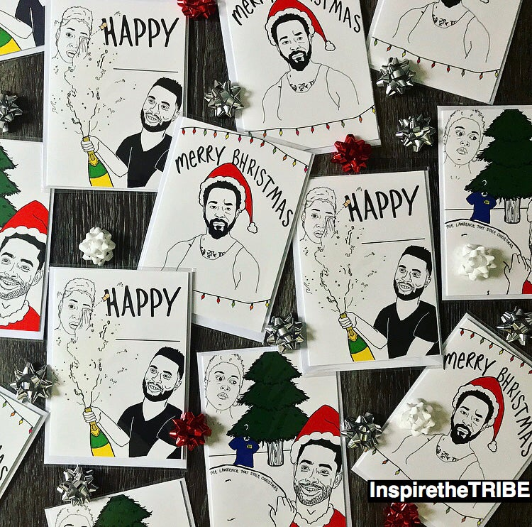 Image of Inspire the TRIBE 'Insecure' Inspired Holiday Cards