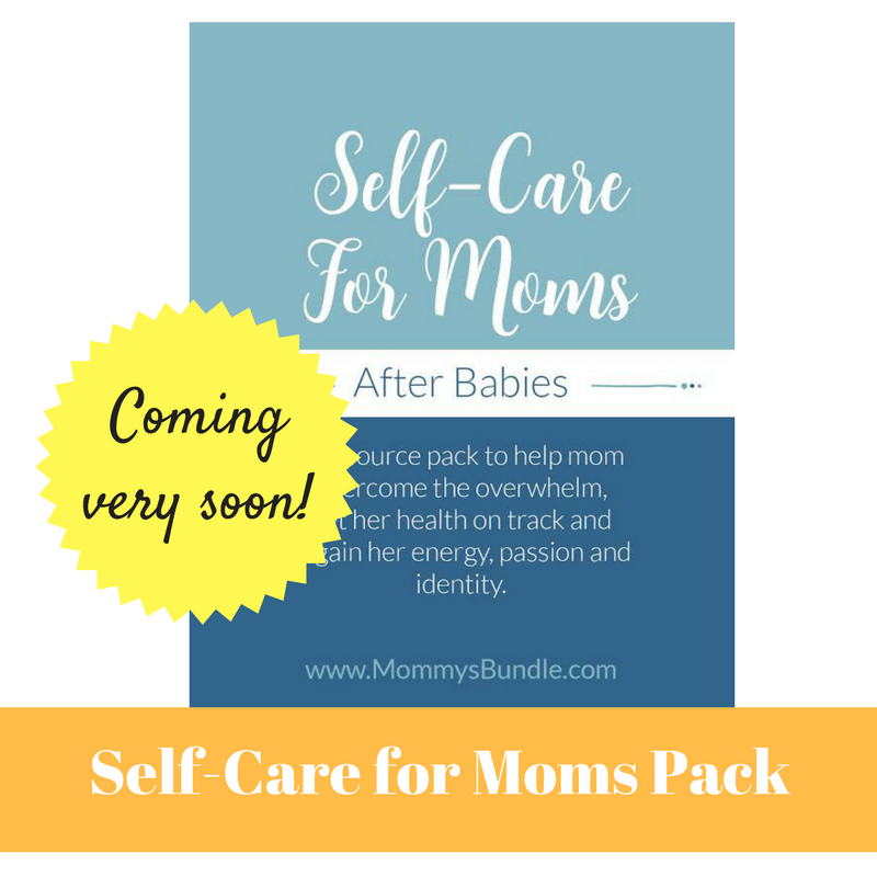 Image of Self-Care for Moms after Babies - Course and Workbook